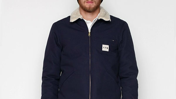 apc x carhartt detroit jacket