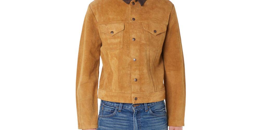 Levi's Vintage Clothing 1950's Suede Trucker Jacket