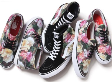 Supreme x Vans Floral Pack