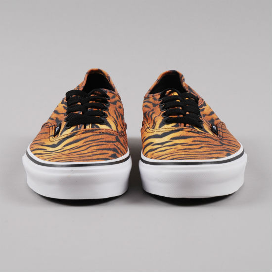 Vans Authentic Tiger Brown / True White | Cult Edge