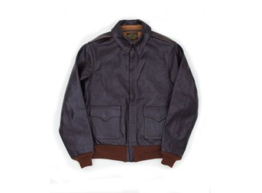 The Real McCoy's Type A-2 MFG Co. Leather Jacket