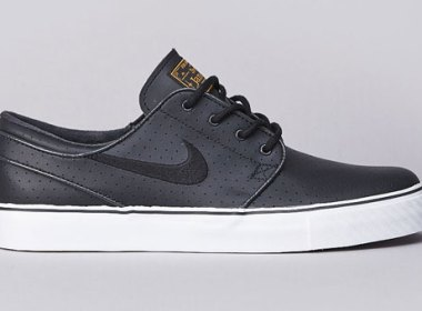 Nike SB Stefan Janoski Anthracite Black/University Gold