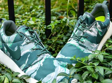 Nike Roshe Run GPX Green Tiger Camo