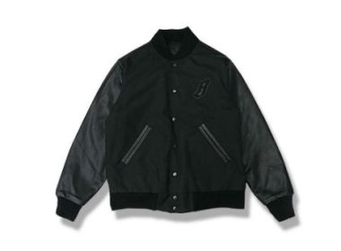 Billionaire Boys Club Black Ballistic Varsity Jacket