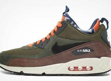 Nike Air Max 90 Mid PRM Legion Green