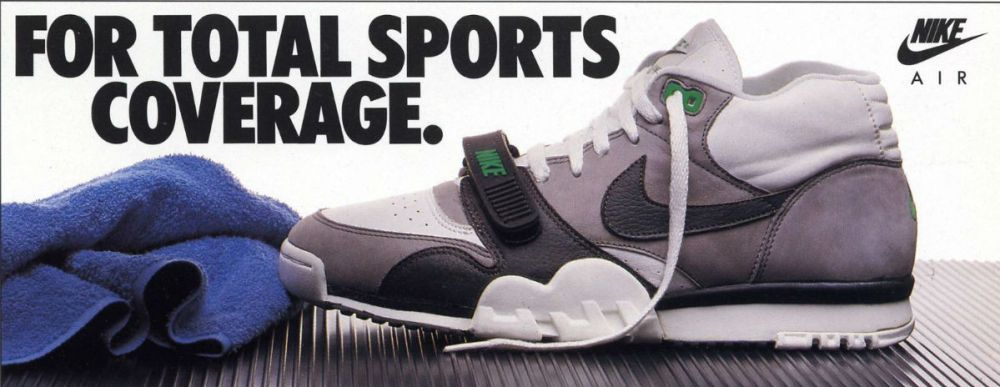 nike air trainer 1 original ad