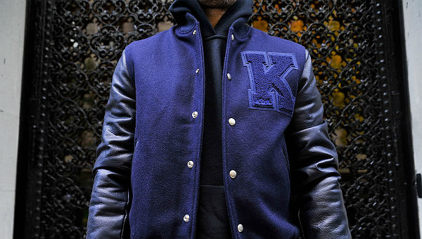 kith x golden bear varsity jacket