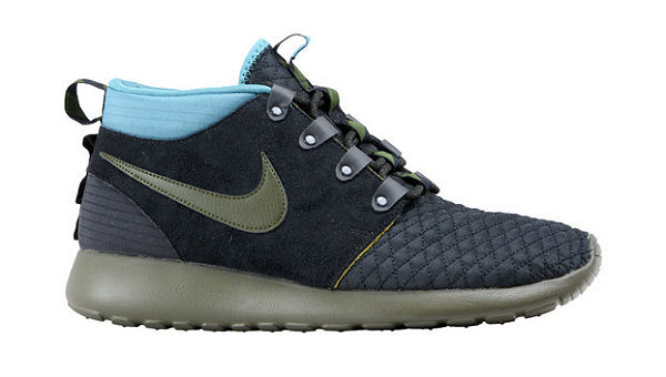 Nike Roshe Run Sneakerboot Dark Loden