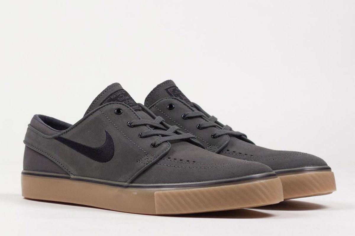 Nike SB Stefan Janoski Dark Base Grey Black Gum | Cult Edge
