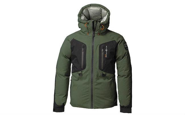 Sail Racing Pole Down Parka Army Green