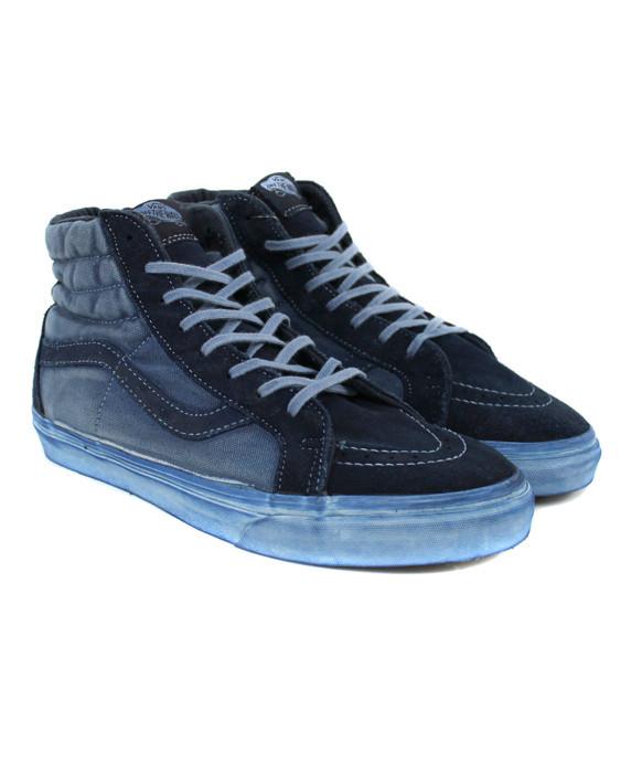 Vans Sk8-Hi Reissue CA Over Washed Dress Blues