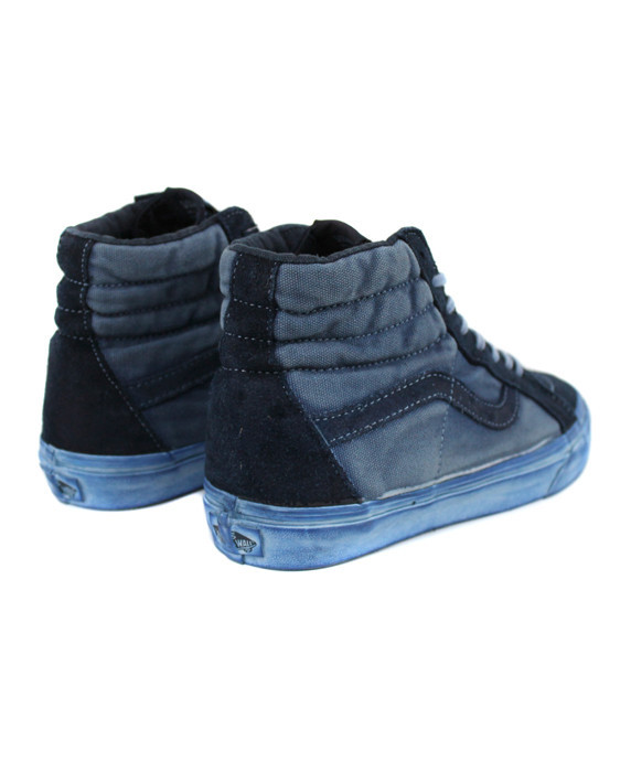 Vans Sk8-Hi Reissue CA Over Washed Dress Blues