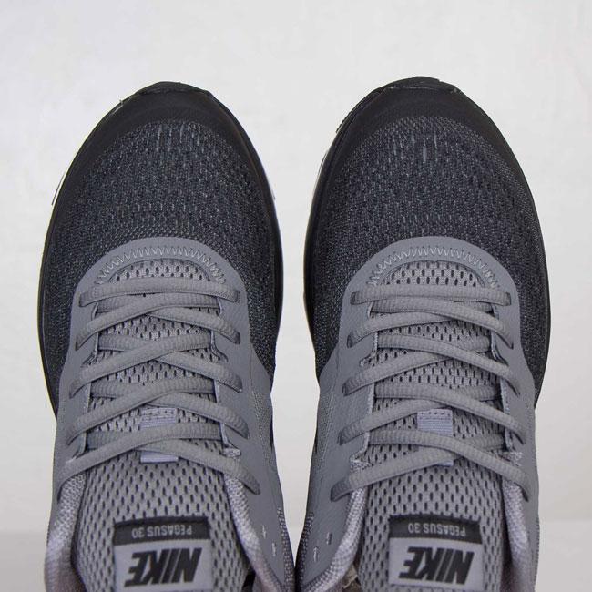 Nike Air Pegasus + 30 Cool Grey / Black / White