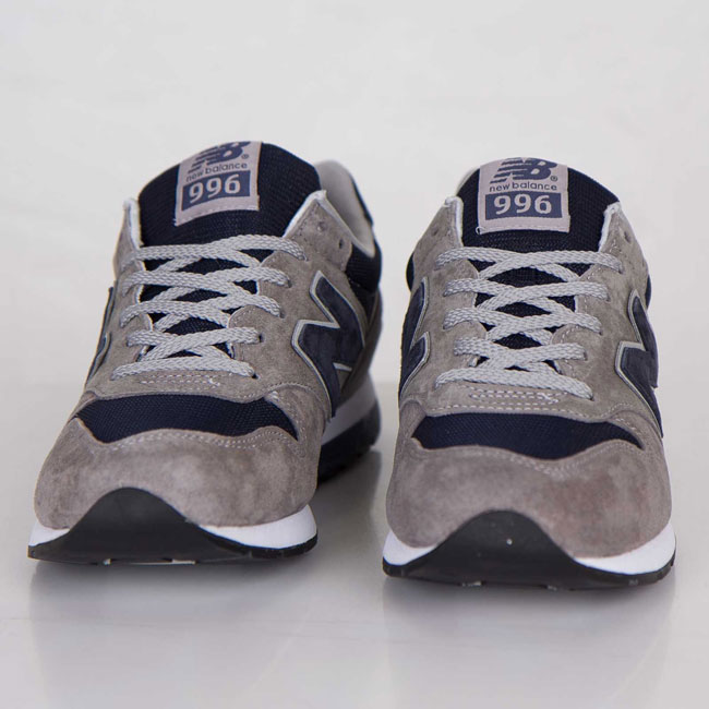 New Balance MRL996 Grey / Navy | Cult Edge