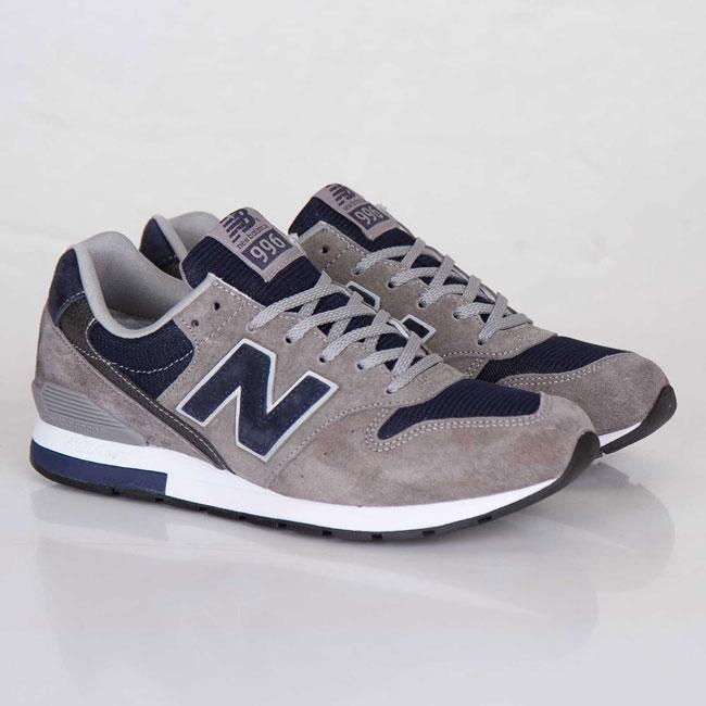 New Balance MRL996 Grey / Navy