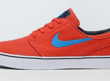 Nike SB Stefan Janoski Canvas Light Crimson / Vivid Blue