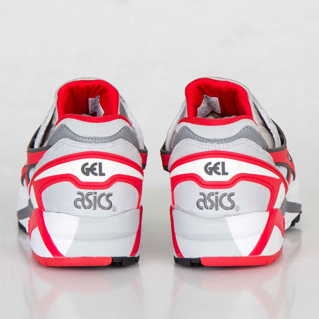 Asics Gel Kayano Trainer White / Fairy Red