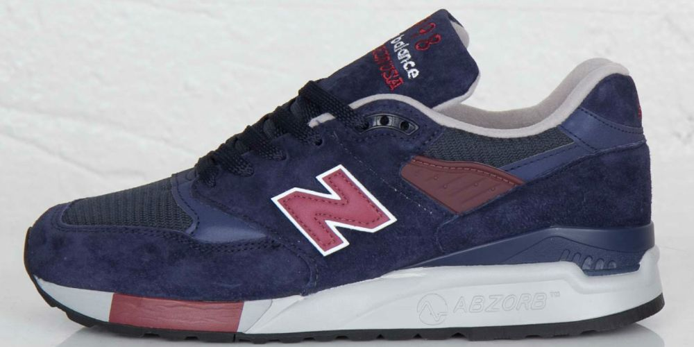 New Balance M998 Navy / Burgundy