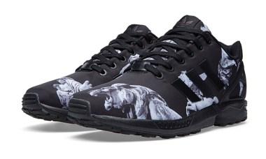 adidas Originals ZX Flux Core Black and Carbon | Cult Edge