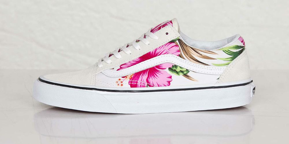 Vans Old Skool Hawaiian Floral White