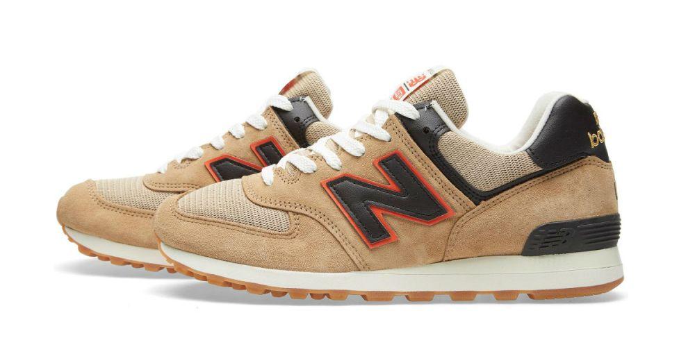 New Balance US574BB Tan Brown/Orange