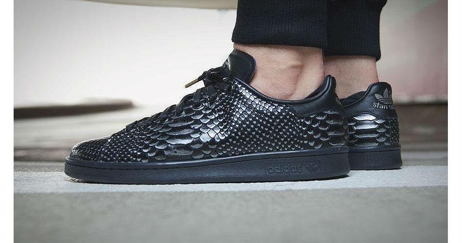 adidas Stan Smith 'Black Reptile'