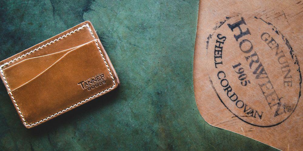 tanner goods limited edition cordovan journeyman
