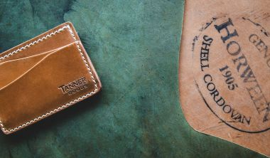 tanner goods limited edition cordovan journeyman