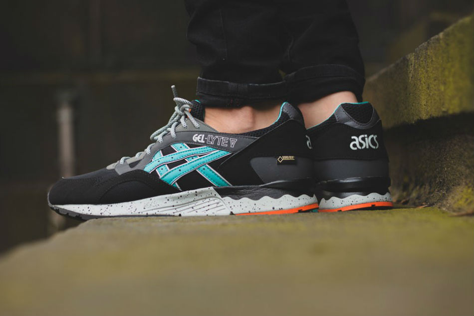 asics gel lyte v gore tex black latigo bay