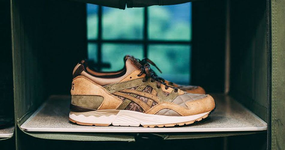 "ASICS Tiger x SBTG x KICKS LAB. GEL-LYTE V ""PHYS ED"""