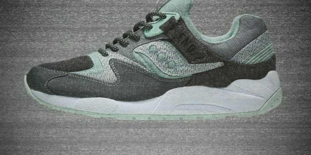 END. x Saucony 'White Noise'