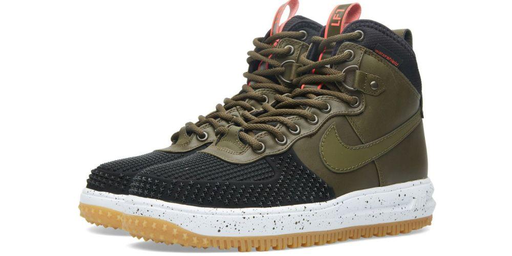 premium selection eed92 4564c Nike Lunar Force 1 Duckboot Black Dark Loden