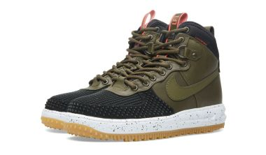 Nike Lunar Force 1 Duckboot Black Dark Loden