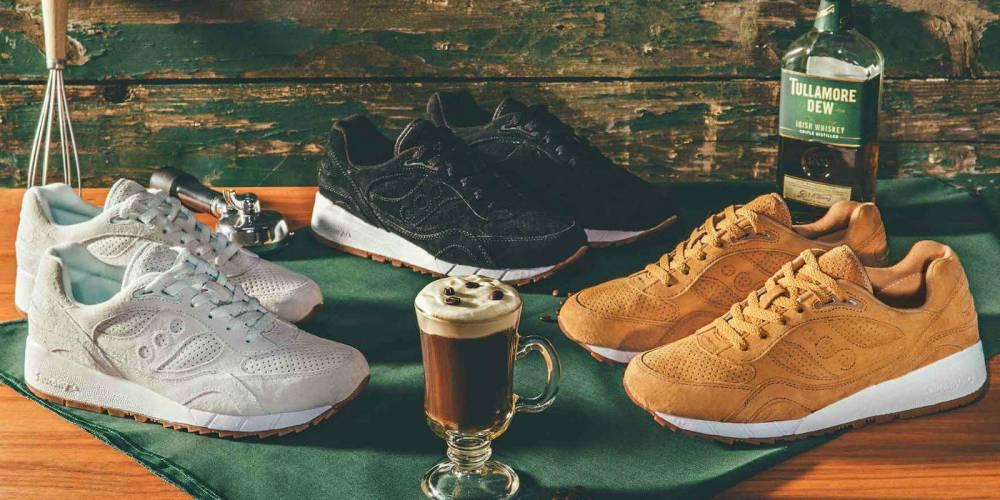 saucony originals irish coffee pack