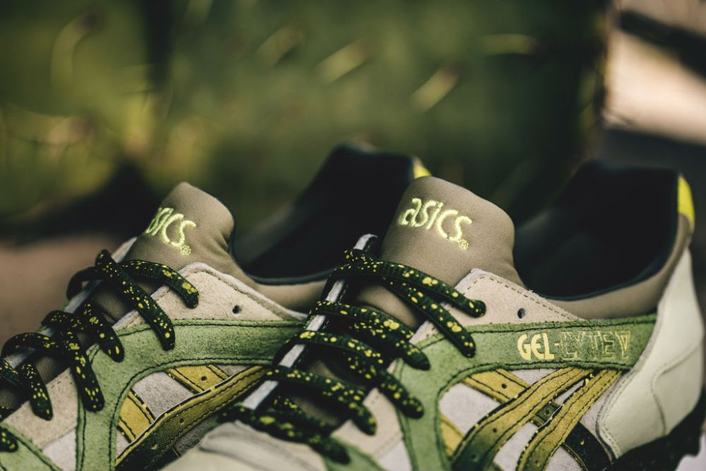 asics x feature gel lyte v prickly pear