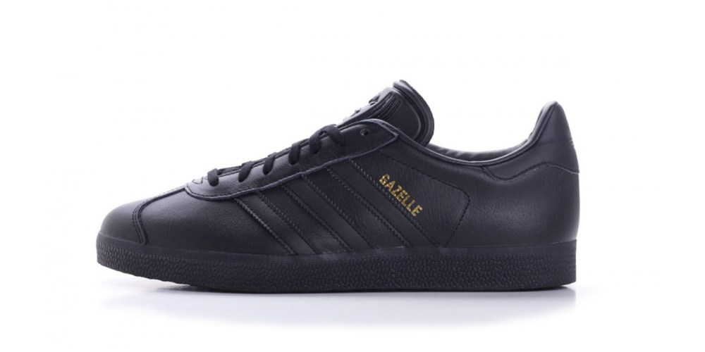 huge selection of deb4f 90bd7 A Crisp adidas Gazelle OG in Triple Black