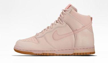 Nike Dunk High Premium Goes Pink Oxford