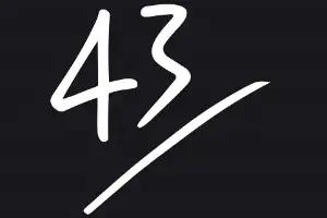 43einhalb logo