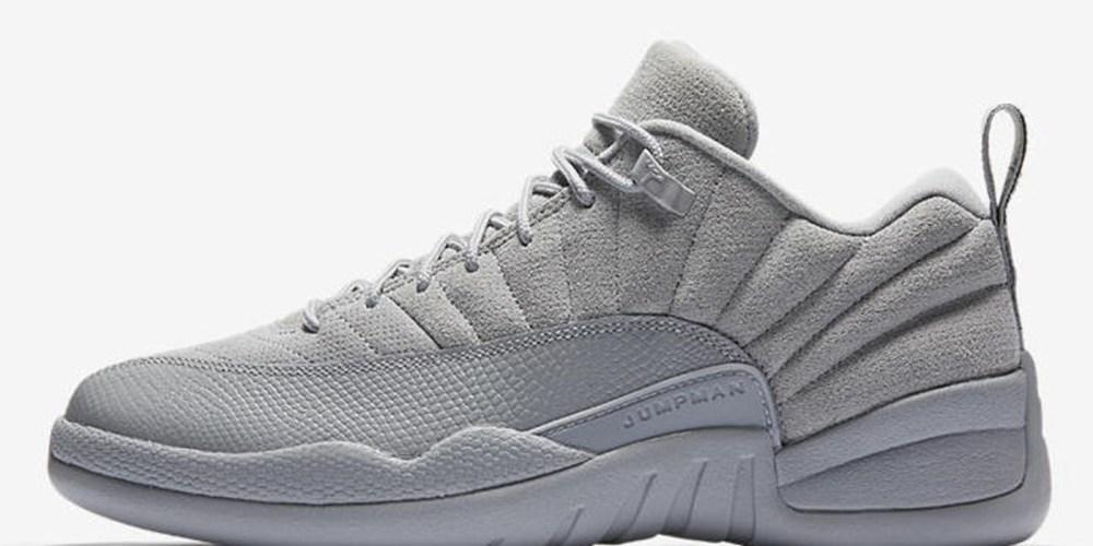Air Jordan 12 Retro Low Wolf Grey