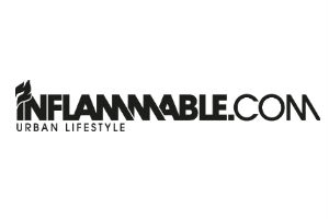 inflammable logo