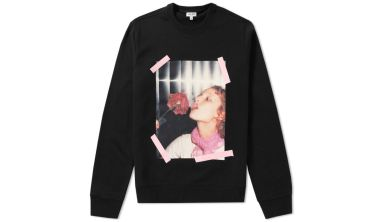 Kenzo Antonios Girls Crew Sweat Black