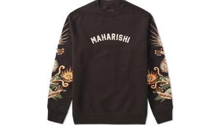 Maharishi Original Dragon Crew Sweat