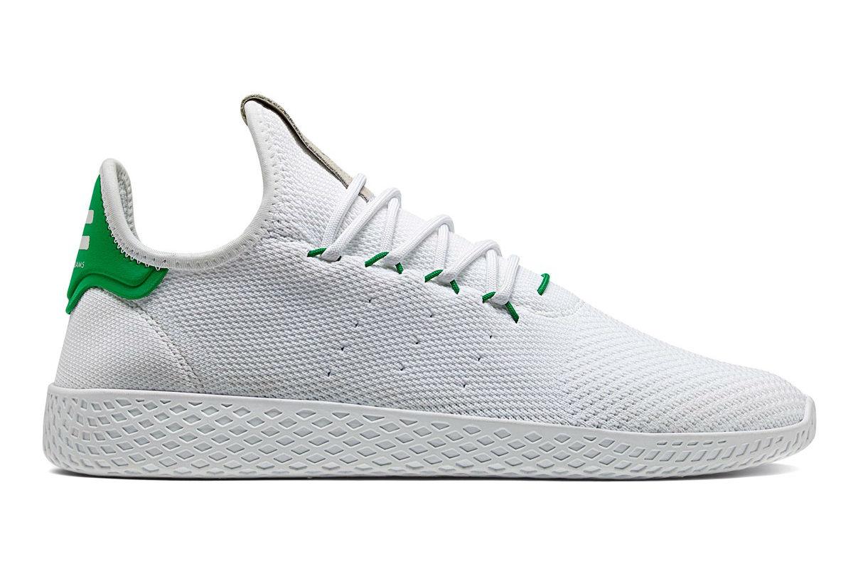 adidas pharrell williams white and green