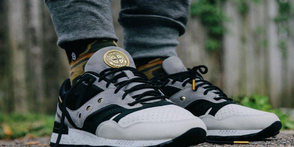 Sneaker Shouts Saucony GRID SD Portuguese Gold