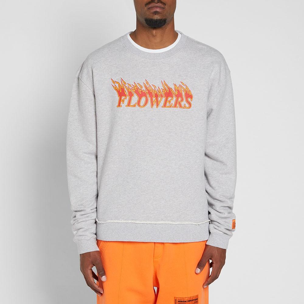heron-preston-flowers-crew-sweat-grey-orange