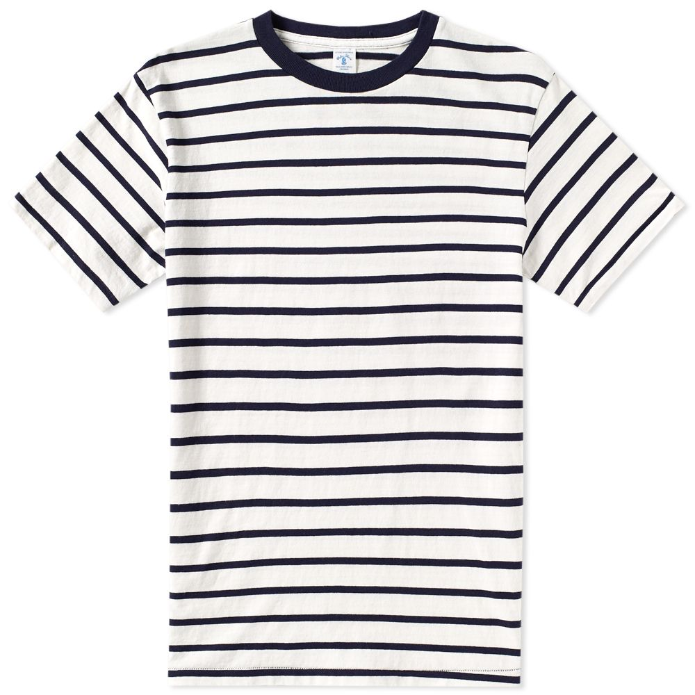 velva-sheen-uneven-stripe-tee-white-navy-161550