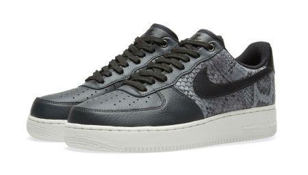 The New Nike Air Force 1 Snake Skin