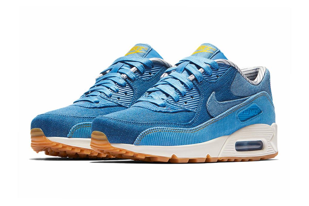Nike Air Max 90 Denim Corduroy Release