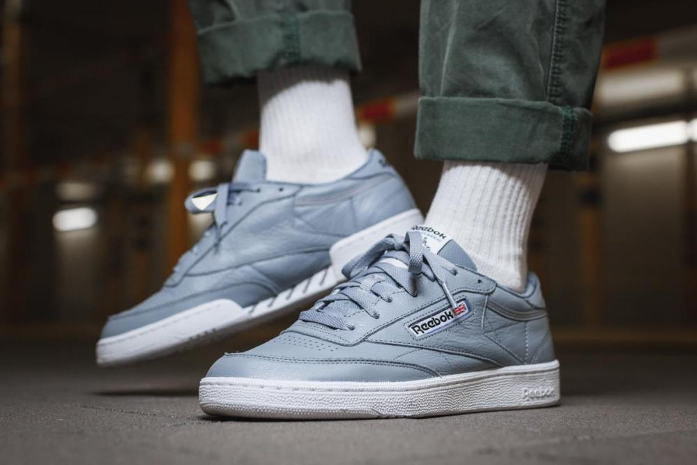reebok club c85 meteor grey