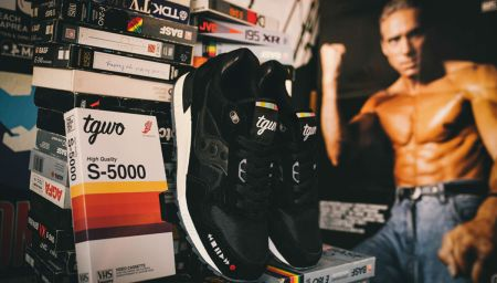 "From the TV Screen to Your Feet: TGWO x Saucony Shadow 500 ""VHS"""